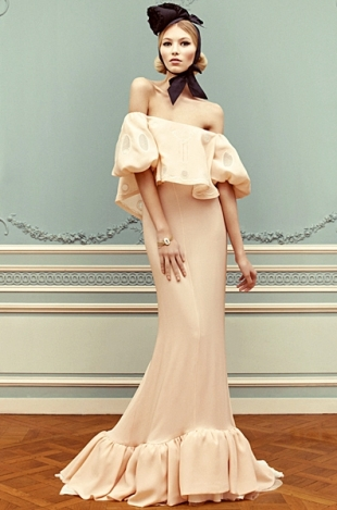 Ulyana Sergeenko Couture Spring 2013 Lookbook