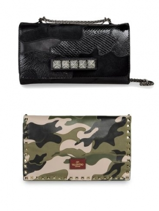 Valentino Military Inspired Accessories Collection