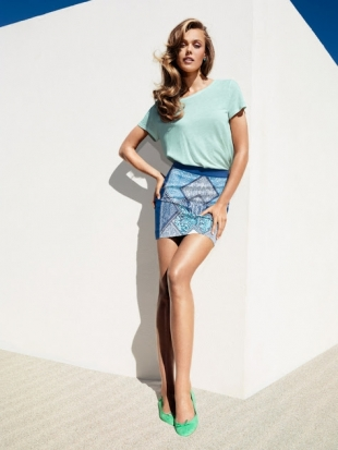 H&M April 2013 Lookbook