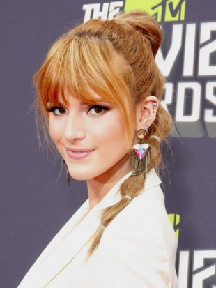 Bella Thorne MTV Movie Awards 2013 Hair: Ponytails