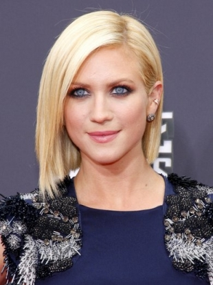 Brittany Snow MTV Movie Awards 2013 Hairstyle
