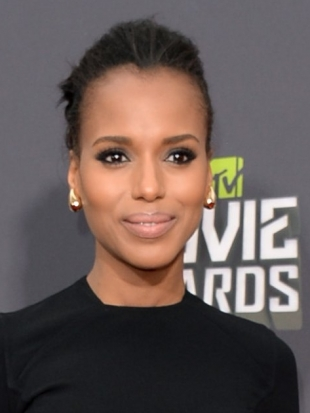 Kerry Washington Hairstyle MTV Movie Awards 2013