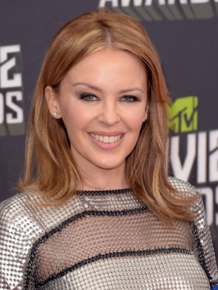 Kylie Minogue MTV Movie Awards 2013 Hairstyle