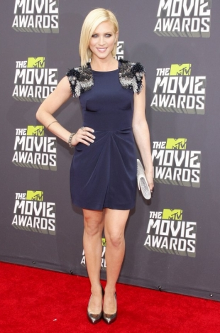 Brittany Snow MTV Movie Awards 2013