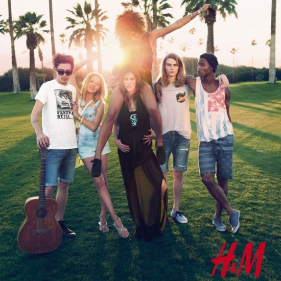 H&M Divided Spring/Summer 2013 Campaign