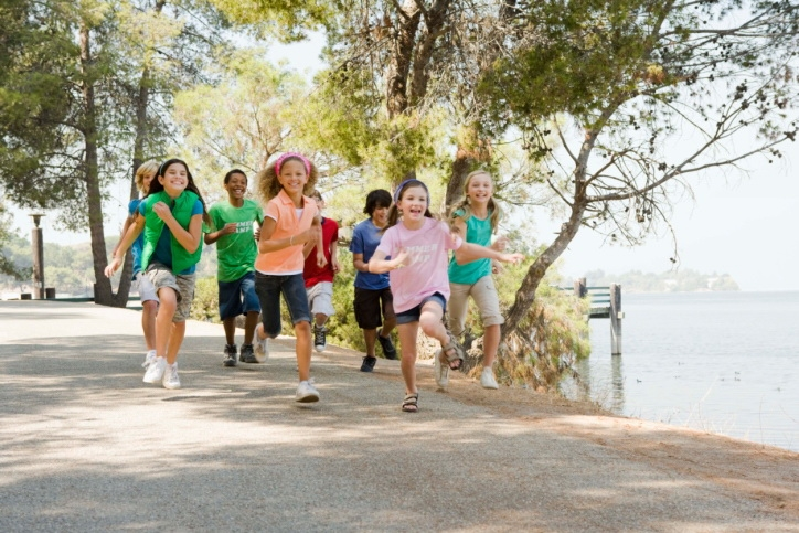 Fitness facts for kids as you plan fitness games for