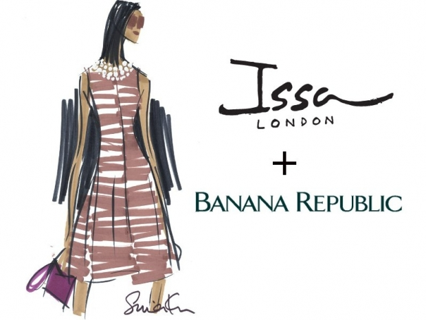 Issa London Teams Up with Banana Republic