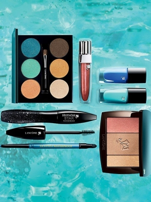 Lancome Summer 2013 Makeup: Aquatic Summer Collection