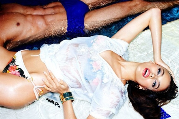 Irina Shayk for Dynamite Summer 2013 Campaign