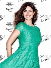 Penélope Cruz for Lindex's Party Perfect Campaign