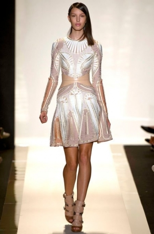 Hervé Léger by Max Azria at New York Fashion Week Fall 2013