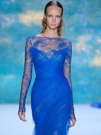 Monique Lhuillier at New York Fashion Week Fall 2013