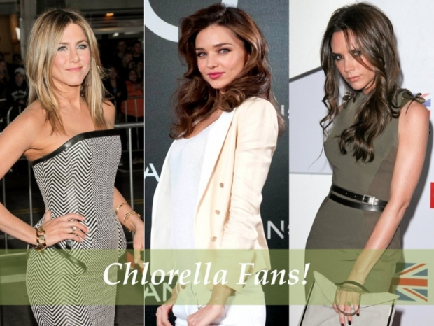 Celebrities Using Chlorella Natural Supplements
