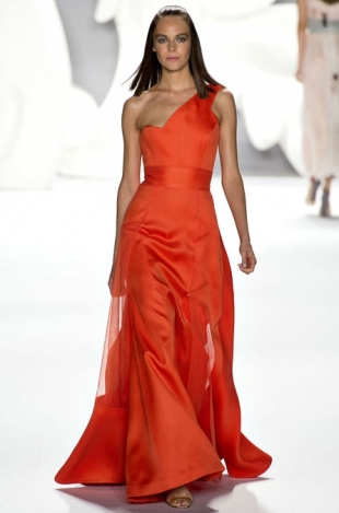 Carolina Herrera at New York Fashion Week Fall 2013
