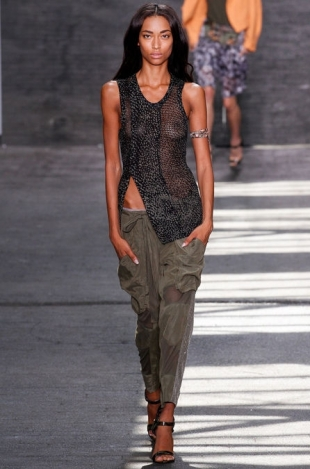 Edun at New York Fashion Week Fall 2013