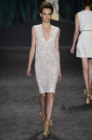 Vera Wang at New York Fashion Week Fall 2013