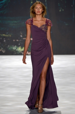 Badgley Mischka at New York Fashion Week Fall 2013