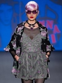 Anna Sui at New York Fashion Week Fall 2013
