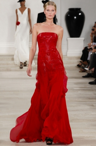 Ralph Lauren at New York Fashion Week Fall 2013