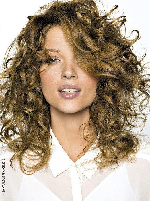 Curly Dirty Blonde Hair 103