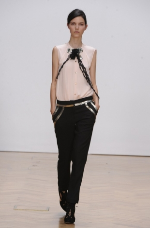 Sass & Bide at London Fashion Week Fall 2013