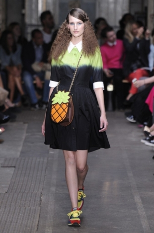 Moschino Cheap & Chic at London Fashion Week Fall 2013