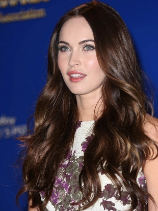 Megan Fox Thick Layered Hairstyle