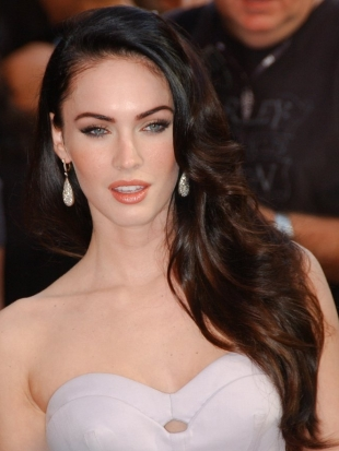Megan Fox Thick Layered Haircut