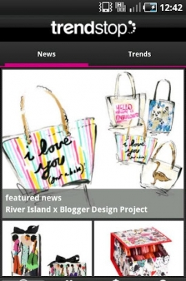 Trendstop Fashion App for iPhone