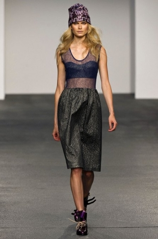 House of Holland at London Fashion Week Fall 2013