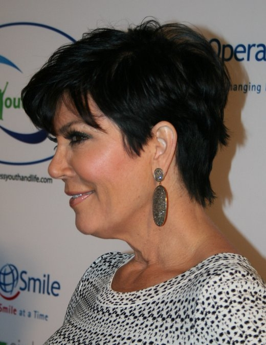 Kris Jenner Haircuts - Great Short Hair for Women over 50.