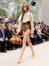 Burberry Prorsum at London Fashion Week Fall 2013