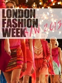 London Fashion Week Fall 2013 Schedule