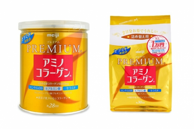 Meiji Amino Collagen Premium - Collagen Drink Powder
