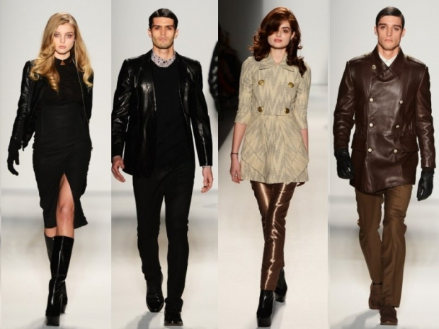 Sergio Davila Fall 2013 Collection New York Fashion Week