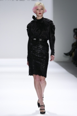 Carmen Marc Valvo Fall 2013 Collection New York Fashion Week