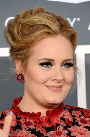 Adele 2013 Grammys Hairstyles and Hairdos