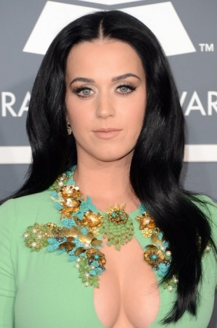 Katy Perry 2013 Grammys Hairstyles and Updos