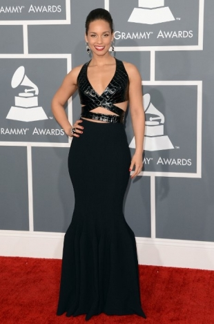 Alicia Keys Grammy Awards 2013 Best Dressed Celebrities