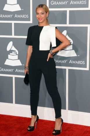 Beyonce Grammy Awards 2013 Best Dressed Celebrities