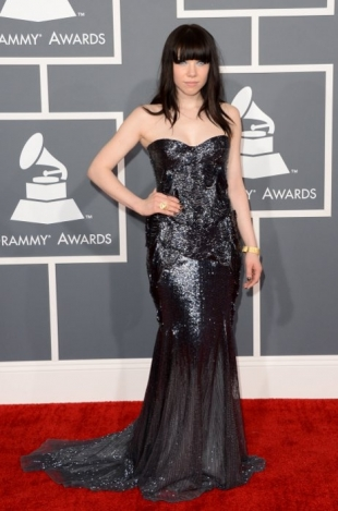 Carly Rae Jepsen Grammy Awards 2013 Best Dressed Celebrities