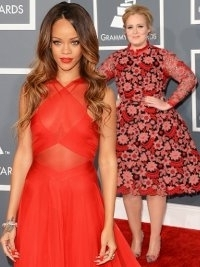 Grammy Awards 2013 Best Dressed Celebrities
