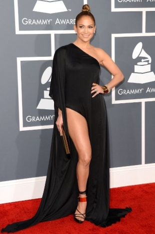 Jennifer Lopez Grammy Awards 2013 Best Dressed Celebrities