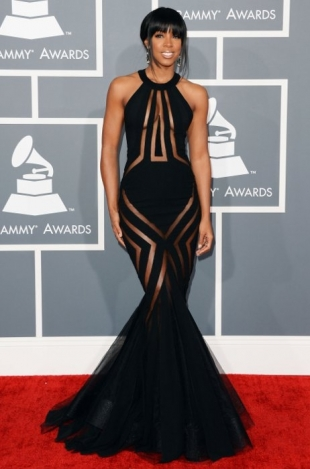 Kelly Rowland Grammy Awards 2013 Best Dressed Celebrities