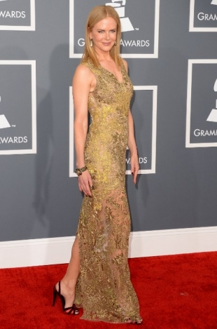 Nicole Kidman Grammy Awards 2013 Best Dressed Celebrities
