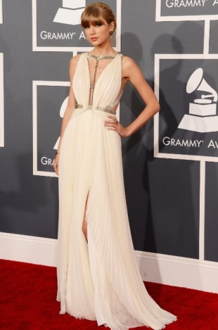 Taylor Swift Grammy Awards 2013 Best Dressed Celebrities