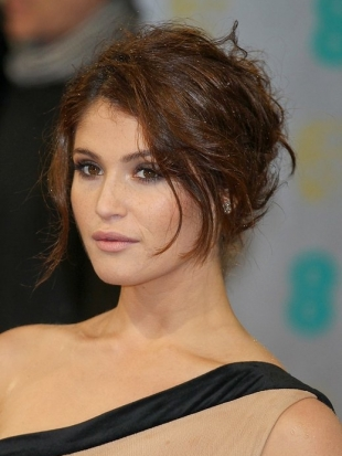 Gemma Arterton 2013 BAFTA Awards Hairstyles