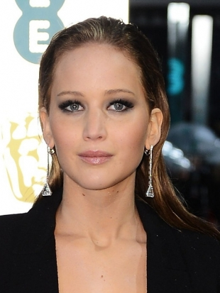 Jennifer Lawrence 2013 BAFTA Awards Hairstyles