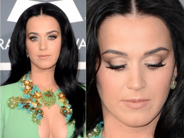 Grammys 2013 Makeup: Katy Perrys Earthy Makeup