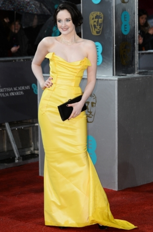 2013 BAFTA Awards Dresses: Andrea Riseborough